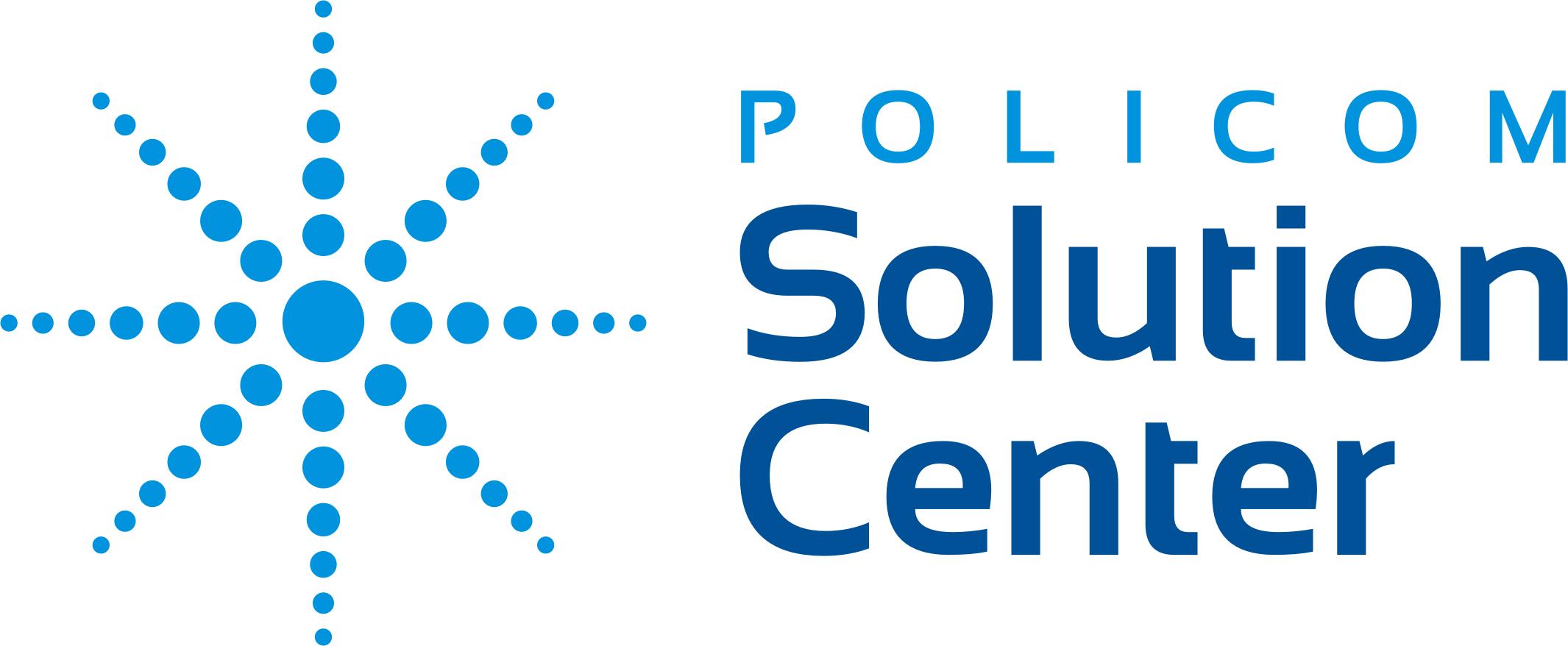 LOGOTIPO POLICOM SOLUTION CENTER